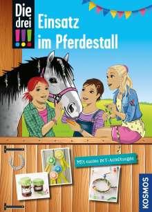 Kari Erlhoff: Die drei !!!, Einsatz im Pferdestall (drei Ausrufezeichen), Buch