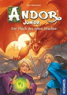 Jens Baumeister: Andor Junior, 1, Der Fluch des roten Drachen, Buch
