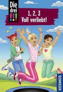 Maja von Vogel: Die drei !!!, 1, 2, 3 Voll Verliebt!, Buch