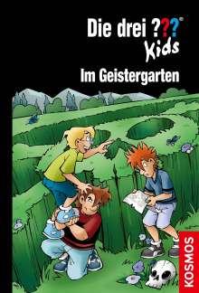 Boris Pfeiffer: Die drei ??? Kids, 89, Im Geistergarten, Buch