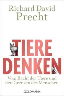 Richard David Precht: Tiere denken, Buch