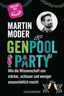 Martin Moder: Genpoolparty, Buch