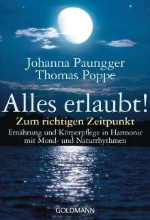 Johanna Paungger: Alles erlaubt!, Buch
