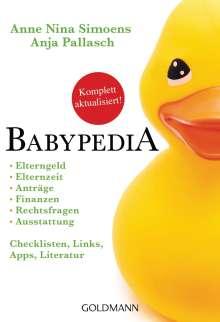 Anne Nina Simoens: Babypedia, Buch