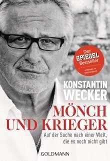 Konstantin Wecker: Mönch und Krieger, Buch
