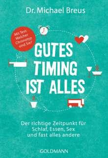 Michael Breus: Gutes Timing ist alles, Buch