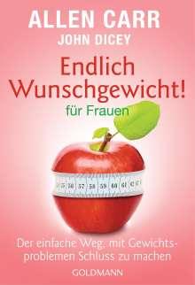 Allen Carr: Endlich Wunschgewicht! für Frauen, Buch