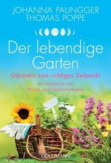 Johanna Paungger: Der lebendige Garten, Buch