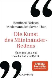 Bernhard Pörksen: Die Kunst des Miteinander-Redens, Buch