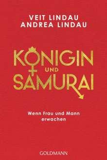 Veit Lindau: Königin und Samurai, Buch