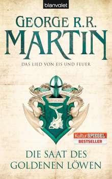 George R. R. Martin: Das Lied von Eis und Feuer 04. Die Saat des goldenen Löwen, Buch