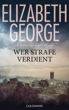 Elizabeth George: Wer Strafe verdient, Buch