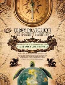 Terry Pratchett: Vollsthändiger und unentbehrlicher Atlas der Scheibenwelt, Buch