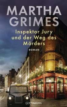 Martha Grimes: Inspektor Jury und der Weg des Mörders, Buch