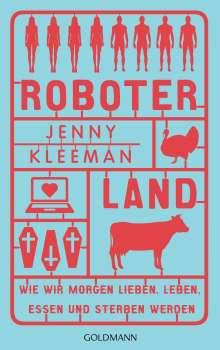 Jenny Kleeman: Roboterland, Buch