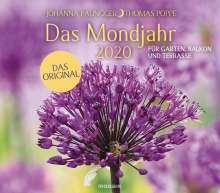 Johanna Paungger: Das Mondjahr 2020 Garten-Wandkalender, Diverse