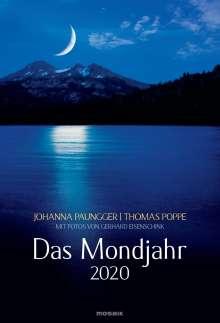 Johanna Paungger: Das Mondjahr 2020 Wandkalender, Diverse
