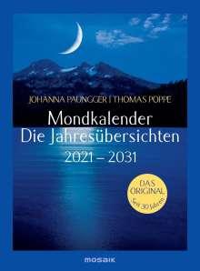 Johanna Paungger: Mondkalender - die Jahresübersichten 2021-2029, Diverse