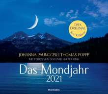 Johanna Paungger: Das Mondjahr 2021. Wandkalender, Kalender