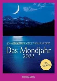 Johanna Paungger: Das Mondjahr 2022, Kalender