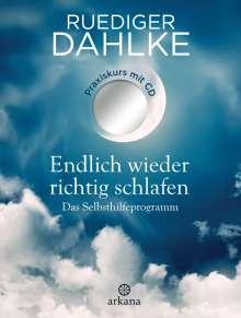 Ruediger Dahlke: Endlich wieder richtig schlafen, Buch
