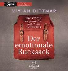 Vivian Dittmar: Der emotionale Rucksack, MP3-CD