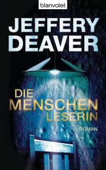 Jeffery Deaver: Die Menschenleserin, Buch