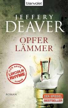 Jeffery Deaver: Opferlämmer, Buch