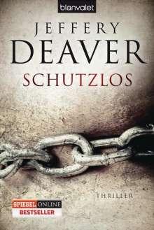 Jeffery Deaver: Schutzlos, Buch