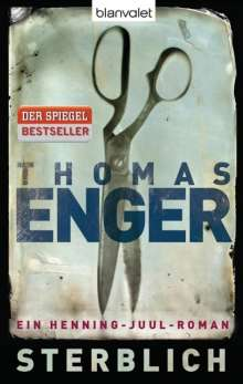 Thomas Enger: Sterblich, Buch