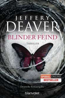 Jeffery Deaver: Blinder Feind, Buch
