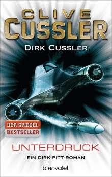 Clive Cussler: Unterdruck, Buch
