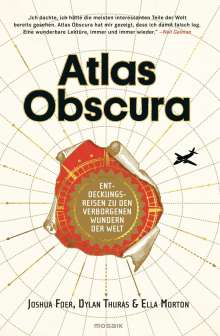 Joshua Foer: Atlas Obscura, Buch