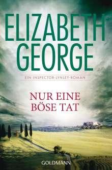 Elizabeth George: Nur eine böse Tat, Buch