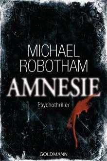 Michael Robotham: Amnesie, Buch