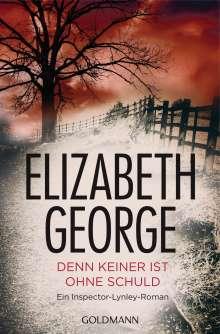 Elizabeth George: Denn keiner ist ohne Schuld, Buch
