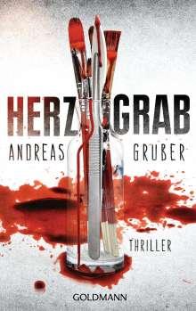 Andreas Gruber: Herzgrab, Buch