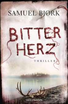 Samuel Bjørk: Bitterherz, Buch