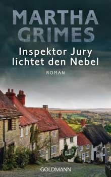 Martha Grimes: Inspektor Jury lichtet den Nebel, Buch