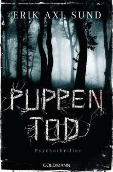 Erik Axl Sund: Puppentod, Buch