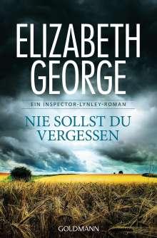 Elizabeth George: Nie sollst du vergessen, Buch