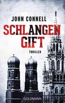 John Connell: Schlangengift, Buch