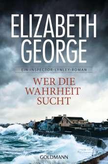 Elizabeth George: Wer die Wahrheit sucht, Buch