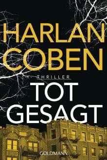 Harlan Coben: Totgesagt, Buch