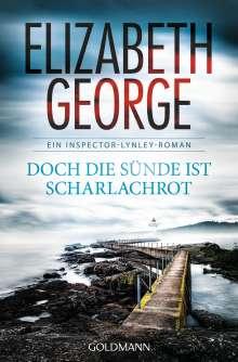 Elizabeth George: Doch die Sünde ist scharlachrot, Buch