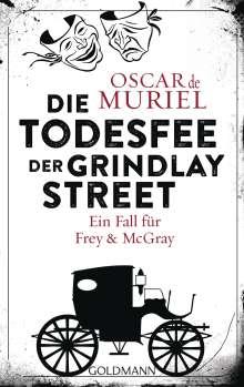 Oscar de Muriel: Die Todesfee der Grindlay Street, Buch