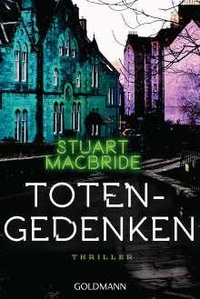 Stuart MacBride: Totengedenken, Buch