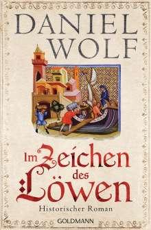 Daniel Wolf: Im Zeichen des Löwen, Buch