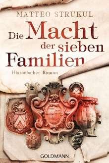 Matteo Strukul: Die Macht der sieben Familien, Buch