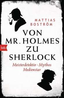 Mattias Boström: Von Mr. Holmes zu Sherlock, Buch
